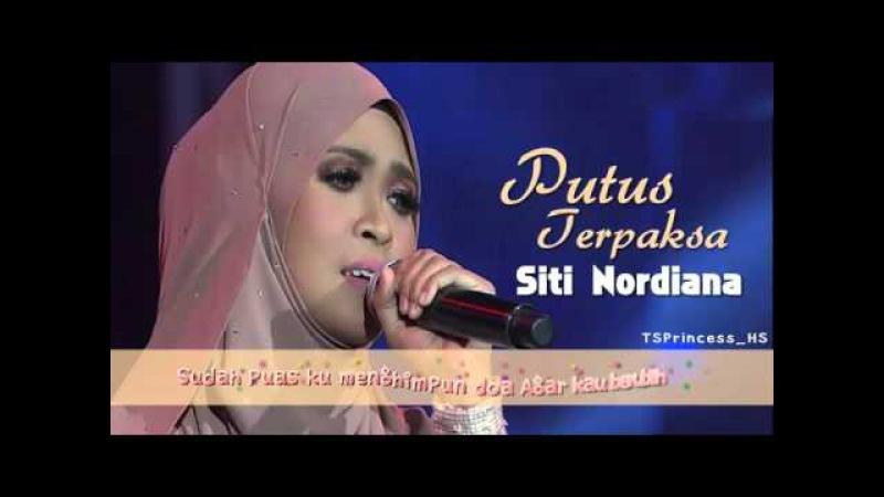 The Best Of Siti Nordiana At Final Gegar Vaganza Concert Putus Terpaksa With Lyric