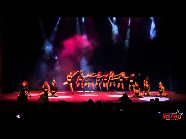 Отчетный концерт RaiSky Dance Studio Наргиз feat Таня Еромоленко Jazz Funkl