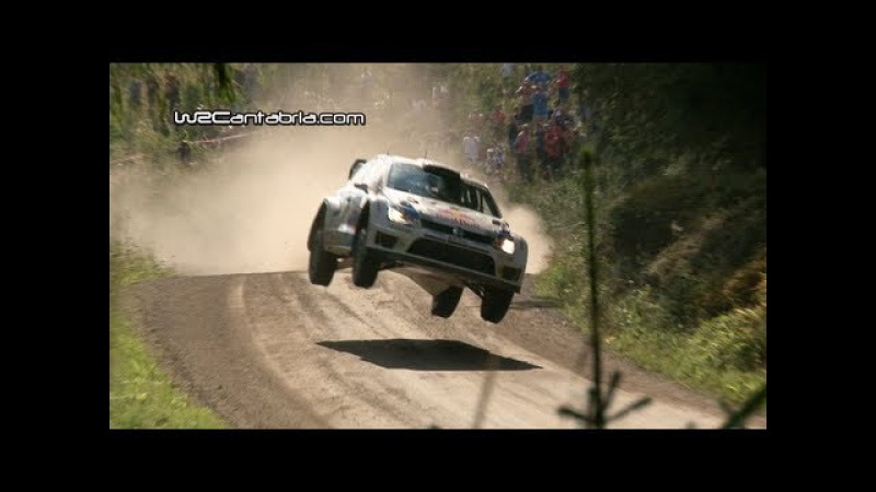 WRC Rally Finland 2013 Jumps Crash Show HD Pure sound