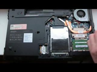 Lenovo G570. Разборка, Сборка ноутбука