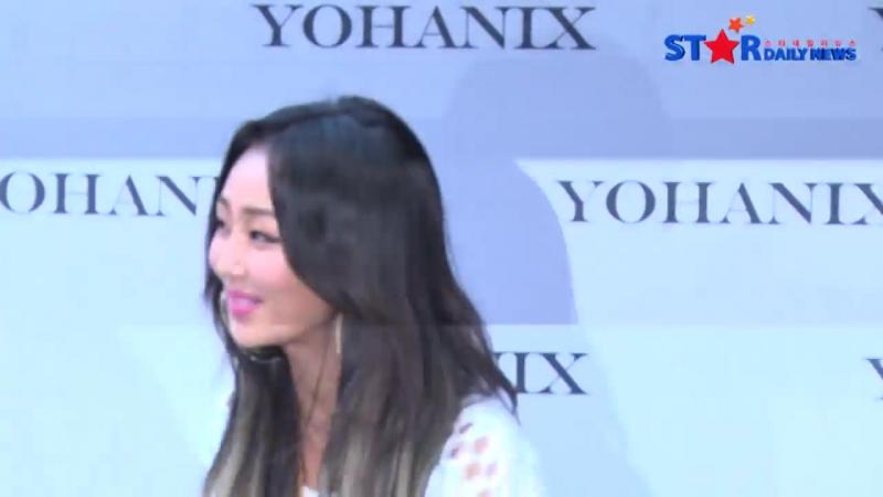 PRESS 151016 Sistar Hyolyn @ Seoul Fashion Week 2016 S S Yohanix