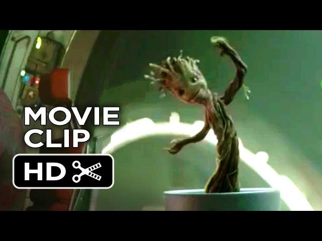 Guardians of the Galaxy Movie CLIP Dancing Baby Groot 2014 Vin Diesel Marvel Movie HD