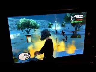 Qumo vega 8009w тестирование игры GTA San Andreas mod Resident evil