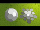 Truncated icosahedron puzzle assembly solution