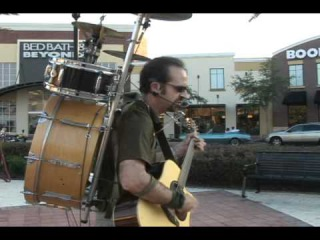 Knocking on Heavens Door Bob Dylan COVER by The One Man Band, Marc Dobson
