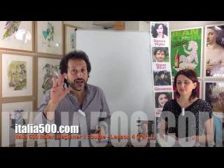 Italia 500 Italian Beginner 1 course - Lesson 4 (Preview)