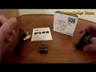 Мини камера SQ8 с датчиком движения и ночным видением (полный видео обзор +инструкция по эксплуатации)