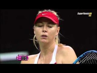 Maria Sharapova vs Petra Kvitova FULL MATCH Fed Cup 2015 PART 2