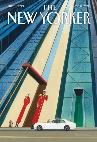 The New Yorker 12 October 2015