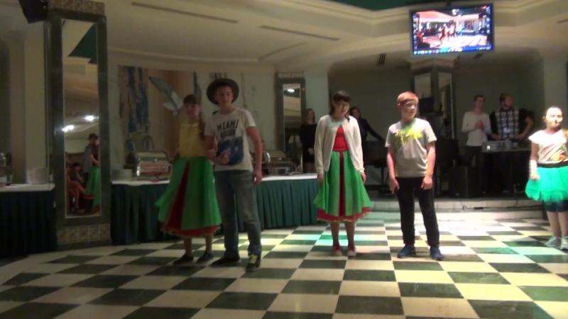 Гала концерт 3 отряд Танец Франция