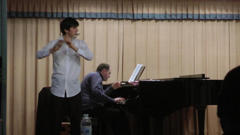 Bach siciliana mouqet la flaute de pan