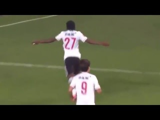 Gervinho debut goal for Hebei China Fortune / Guangzhou R&F vs Hebei China Fortune