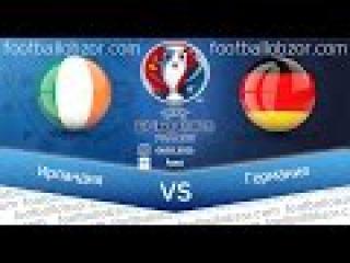 Ireland vs Germany 1-0 Full Match Highlights & Goals EURO 2016 Qualifying