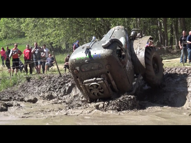 Off Road Truck in Water pit