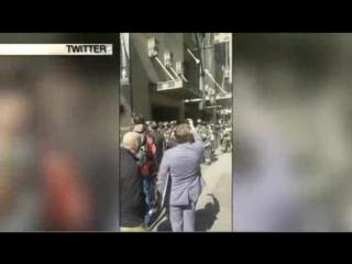 О сильном задымлении на цетральном вокзале нью-йорка сообщают очевидцы
