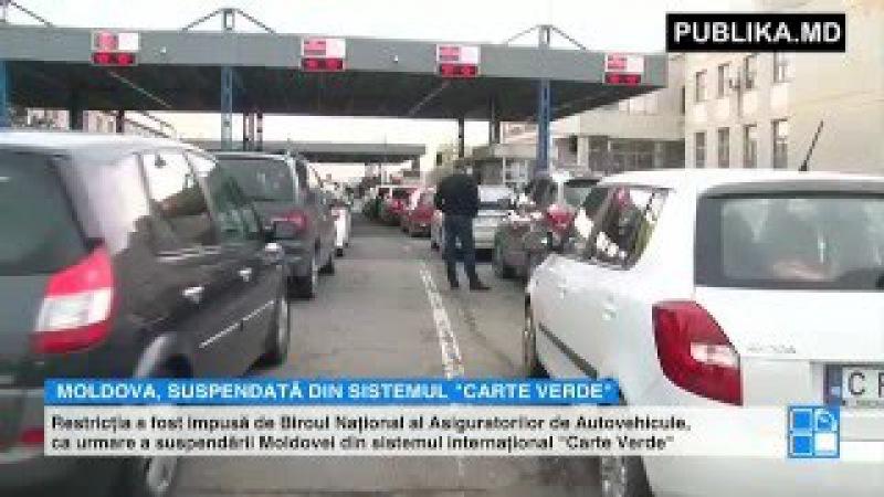 VESTE REA PENTRU ŞOFERI Companiile de asigurări din Moldova nu vor mai vinde Carte Verde