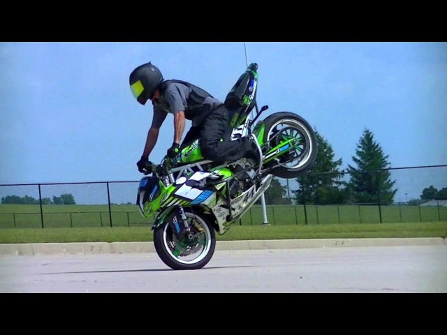 Kyle Sliger 2016 STUNT and DESTROY motorcycle freestyle stunt riding