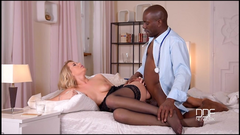 Nikky Dream Doc Black Cock Penetrates Blonde Ass Liked Porno