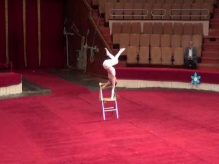 Ангел. Марта Степанова. Отчётный в цирке 2016