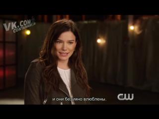 Интервью от CW — Ханна Мэнгэн-Лоуренс (рус. суб.)