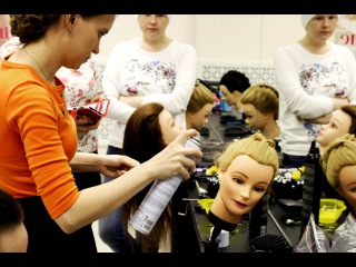 Courses hairstyles and braiding | Academy Fashion Kings |  Backstage | Обучение прическам