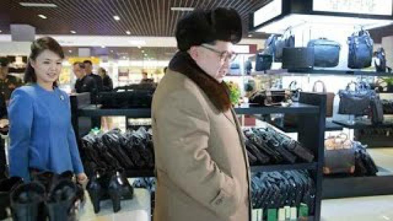 KCTV (경애하는 김정은동지께서 새로 건설된 미래상점과 종합봉사기지를 현지5