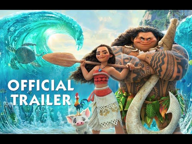 Moana Official Trailer (2016)