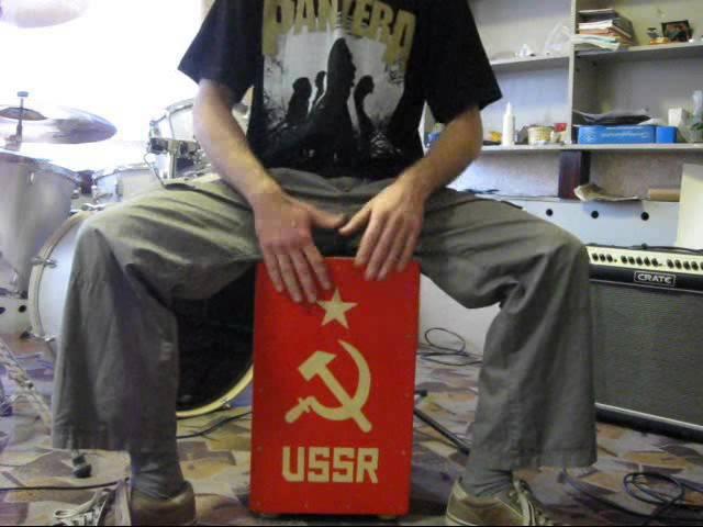 Handmade cajon USSR. Кахон мастеровой. СССР