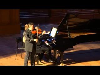 Дворжак Славянский танец № 2 Максим Венгеров (скрипка) Итамар Голан (фортепиано)