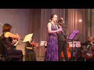 """С.И.Танеев. """"Канцона"""" для кларнета и струнных"""