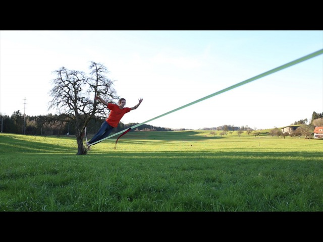 Slackline Tutorial How to Surf on a Longline for Beginners