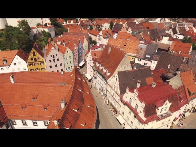 Füssen von oben ANTENNE BAYERN Bayern von oben