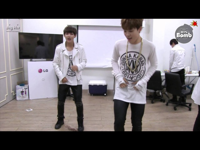 BANGTAN BOMB it's tricky is title BTS here we go by Run D M C