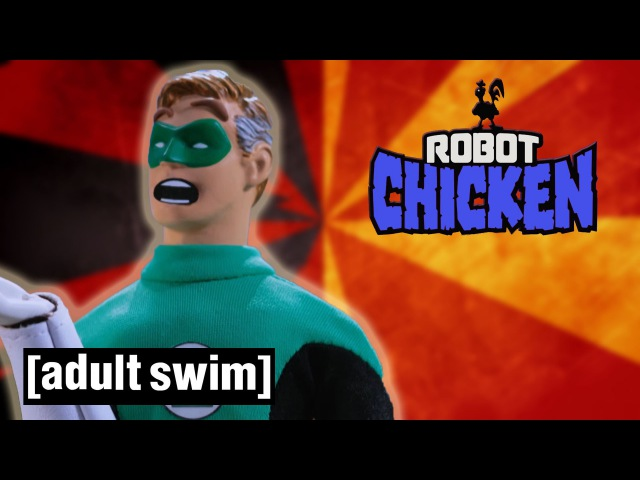 The Best of Green Lantern Robot Chicken Adult Swim
