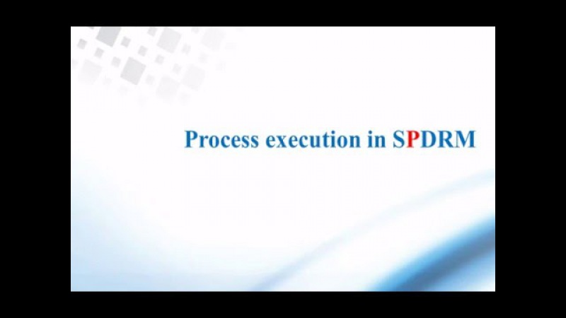 Post processing analysis results in SPDRM