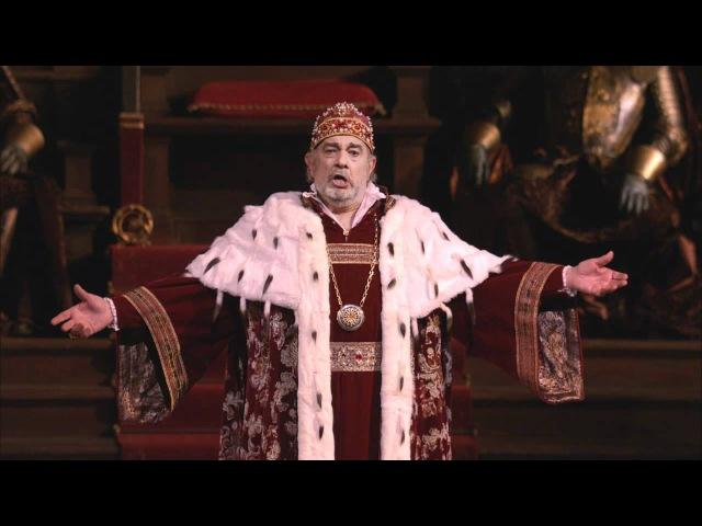 Simon Boccanegra Plebe patrizi Plácido Domingo Met Opera