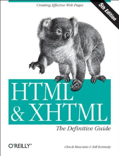 HTML - XHTML The Definitive Guide