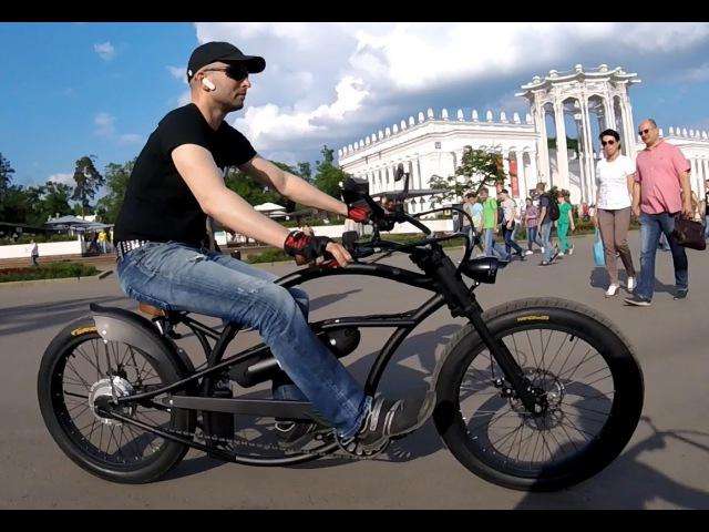 Велочоппер Megavel Bobber Electro велосипед чоппер с мотором