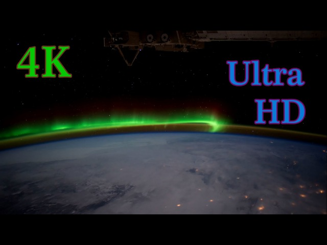 4K Земля из космоса Earth From Space 4K 2160p UHD UltraHD