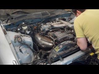Первый запуск Toyota Chaser SX90 после свапа