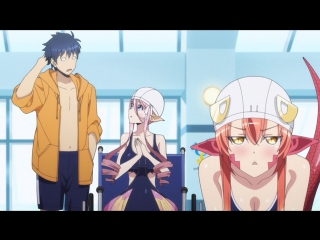 Monster Musume no Iru Nichijou OVA-1 / Повседневная жизнь с девушками монстрами (ОВА-1) - 1 серия Озвучка: AniDub