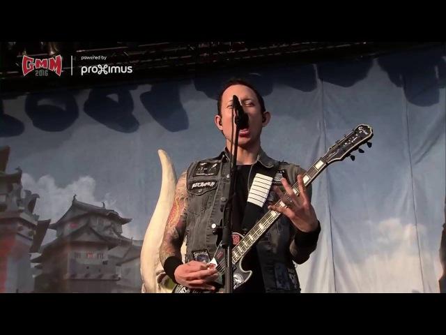 Trivium Live Graspop 2016 Full Show HD STREAMRIP