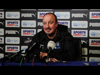 Benitez's pre-bristol city media briefing