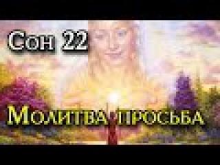 Сон Пресвятой Богородицы 22. Молитва просьба.