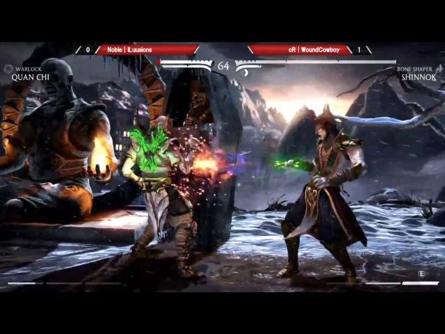 MKXL iLuusions Quan Chi vs WoundCowboy Shinnok Top 8 KIT 2017