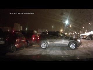 Парковка VW Tiguan г/н Х960НК750