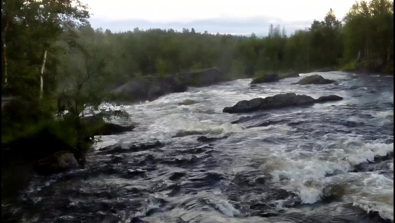 Водопад на р Шуонийоки 2