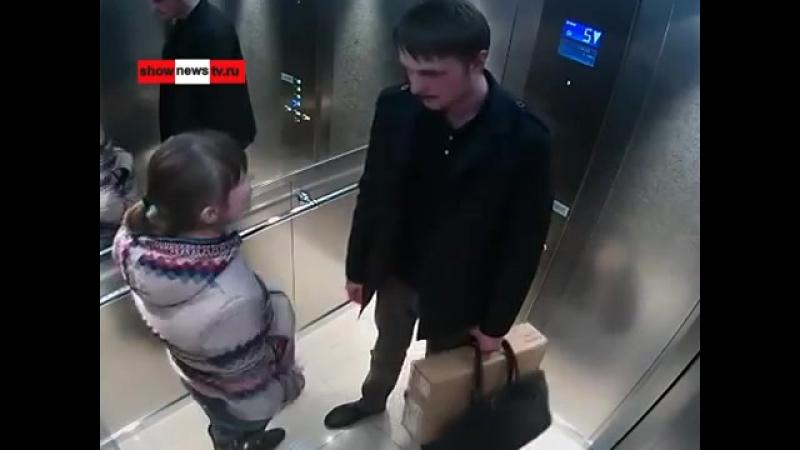 Ржач Девка ссыт в лифте в ТЦ в самом центре миллионника Real Video