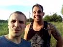Я с Артухой после пробежки