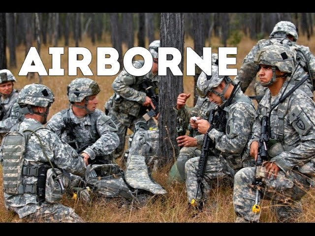 US vs UK Army Paratroopers British Parachute Regiment vs US Airborne Division CJOAX 15